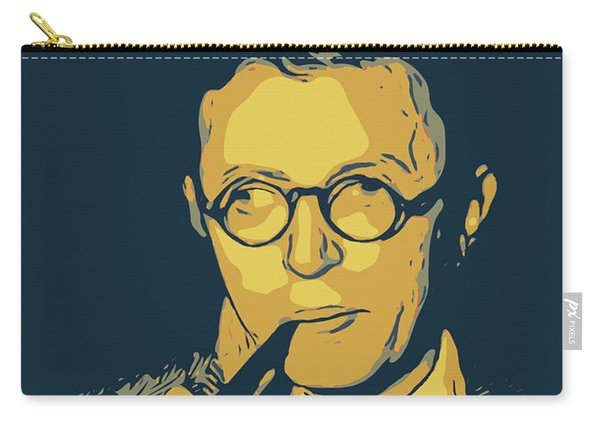 Jean Paul Sartre Carry-all Pouch