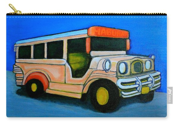 Jeepney Carry-all Pouch