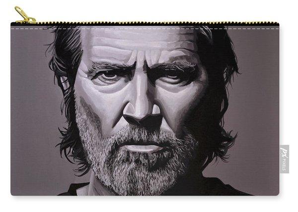 Jeff Bridges Painting Carry-all Pouch