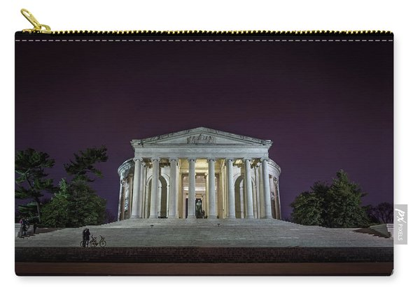 Jefferson At Night Carry-all Pouch