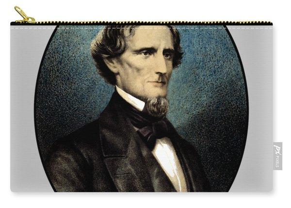 Jefferson Davis Carry-all Pouch