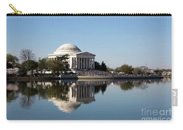 Jefferson Memorial Cherry Blossom Festival Carry-all Pouch
