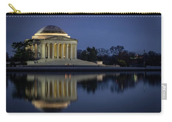 Jefferson Reflecting Carry-all Pouch