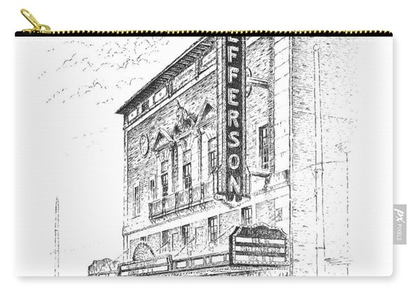 Jefferson Theatre Carry-all Pouch