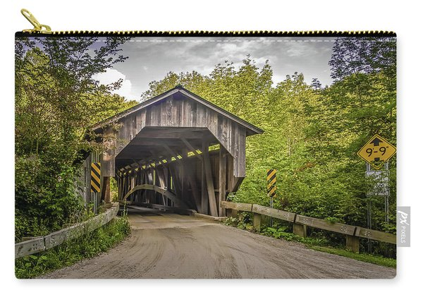 Jeffersonville Covered Bridge Carry-all Pouch