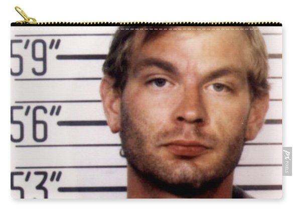 Jeffrey Dahmer Mug Shot 1991 Square  Carry-all Pouch