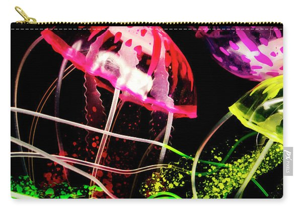 Jelly Fish Trails Carry-all Pouch