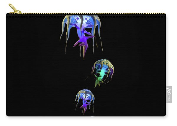 Jellys In Space Carry-all Pouch