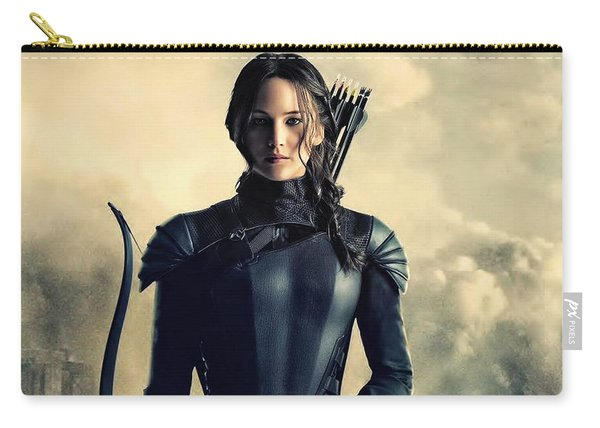Jennifer Lawrence The Hunger Games  2012 Publicity Photo Carry-all Pouch