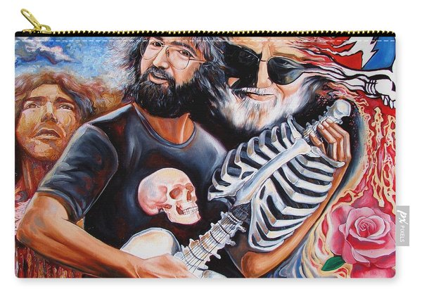 Jerry Garcia And The Grateful Dead Carry-all Pouch