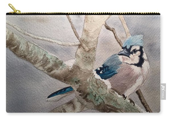 Cold Winter's Jay Carry-all Pouch