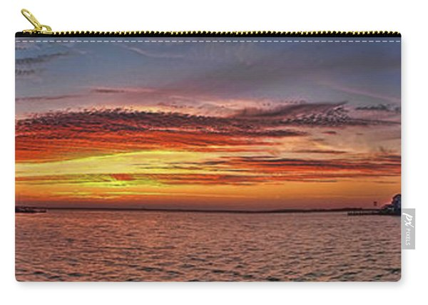 Jersey Shore Panorama Ship Bottom Carry-all Pouch