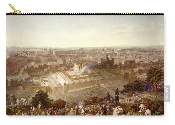 Jerusalem In Her Grandeur Carry-all Pouch
