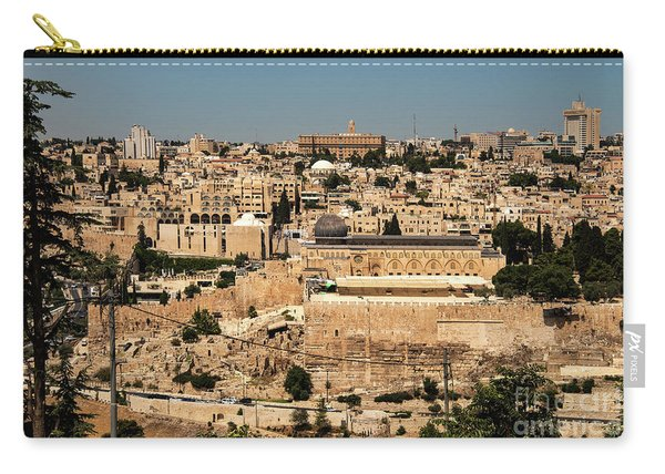 Carry-all Pouch featuring the photograph Jerusalem by Mae Wertz