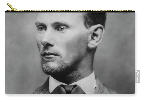 Jesse James -- American Outlaw Carry-all Pouch