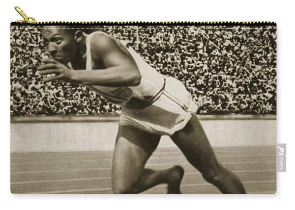 Jesse Owens Carry-all Pouch