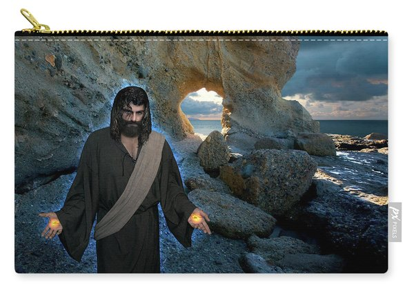 Jesus Christ- And Surely I Am With You Always Carry-all Pouch