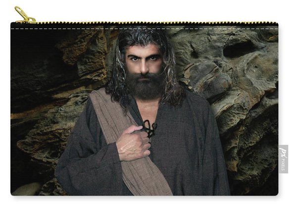 Jesus Christ- Be Still And Know That I Am God Carry-all Pouch