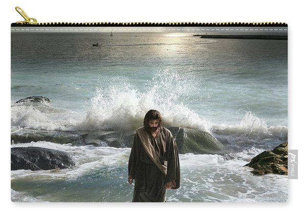 Jesus Christ- I Have Come As A Light Into The World Carry-all Pouch