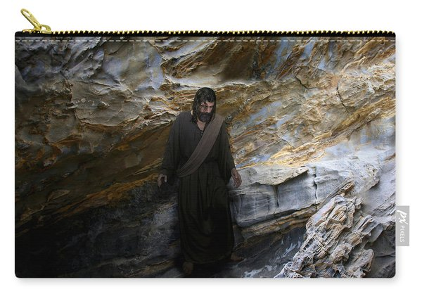 Jesus Christ- The Lord Is My Light And My Salvation Carry-all Pouch
