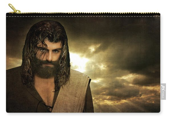 Jesus Christ- Will You Hear Me Shout Come Up Carry-all Pouch