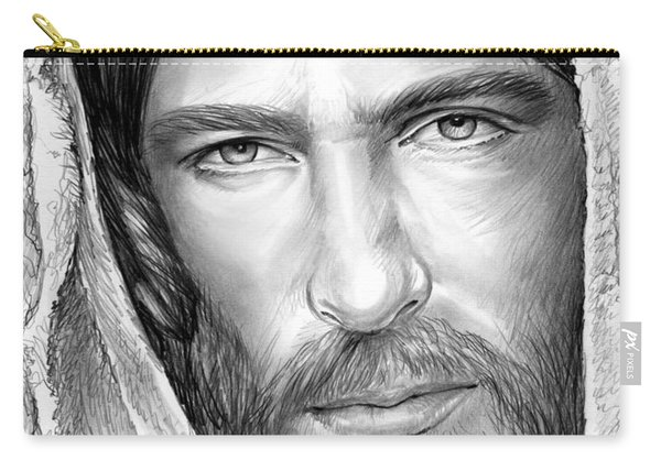 Jesus Face Carry-all Pouch