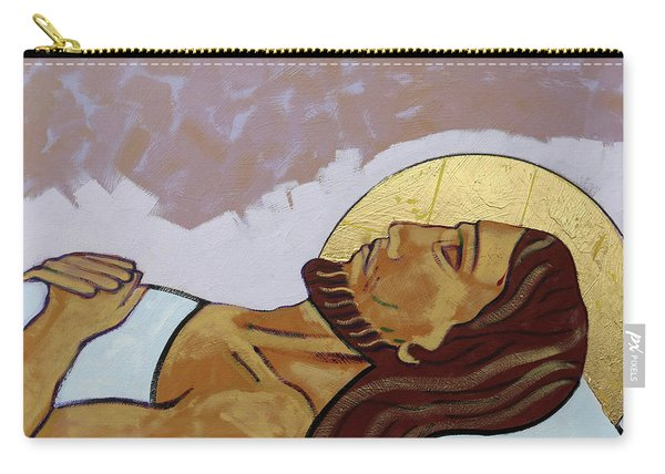 Jesus Is Laid In The Tomb Carry-all Pouch