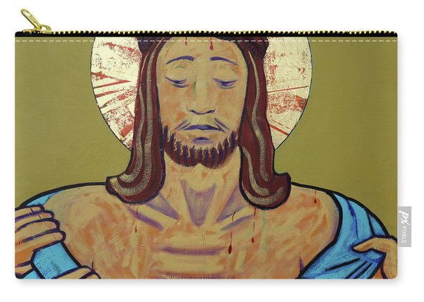Jesus Is Stripped Carry-all Pouch