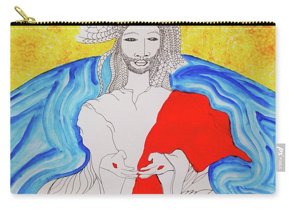 Jesus Messiah Second Coming Carry-all Pouch