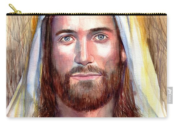 Jesus Of Nazareth Painting Carry-all Pouch