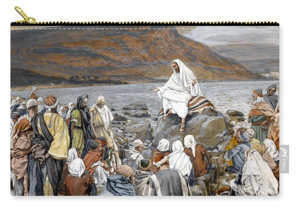 Jesus Preaching Carry-all Pouch