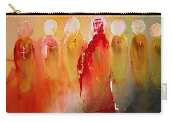 Jesus With His Apostles Carry-all Pouch