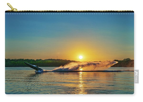 Jet Boat Wheelie  Carry-all Pouch