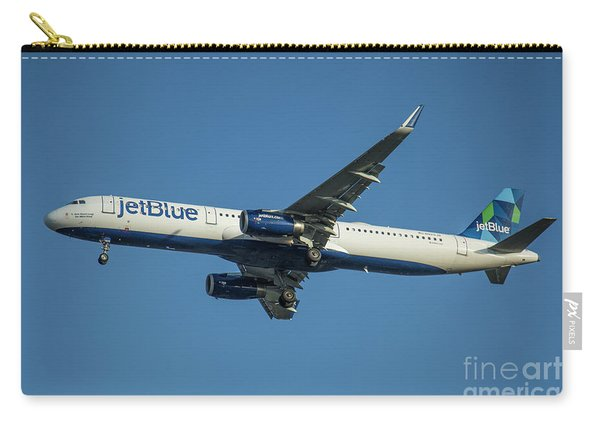 jetBlue Airways Airbus A320 Los Angeles Airport Art Carry-all Pouch