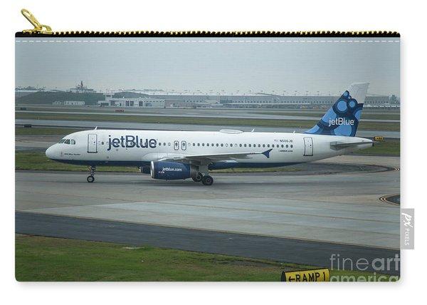 jetBlue Airways Jet N590JB Arriving Hartsfield-Jackson Atlanta International Airport Art Carry-all Pouch