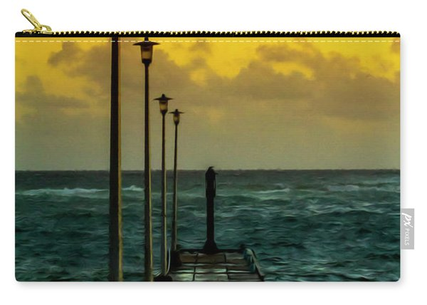 Jetty At Sunrise Carry-all Pouch