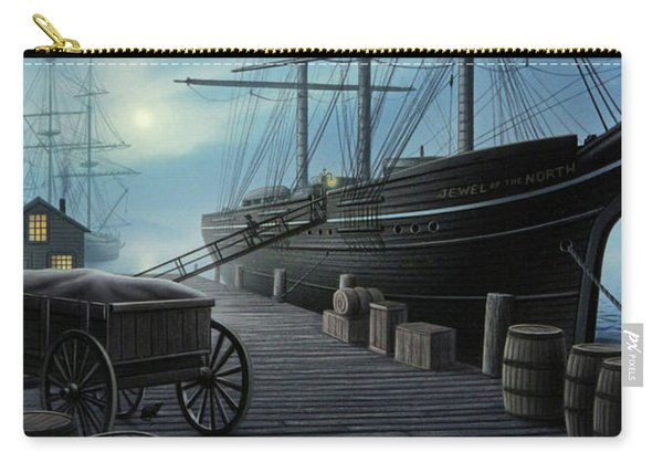 Jewel Of The North Carry-all Pouch