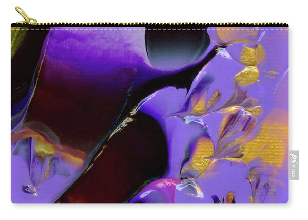 Jeweled Amethyst Carry-all Pouch