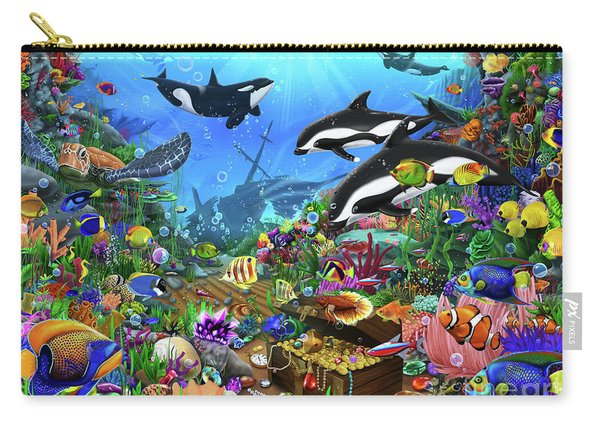 Jewels Of The Deep Carry-all Pouch