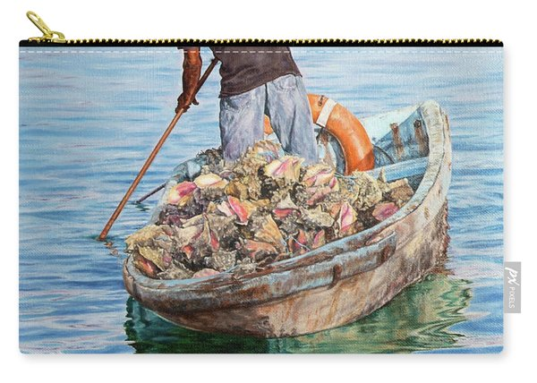 Jewels Of The Sea Carry-all Pouch