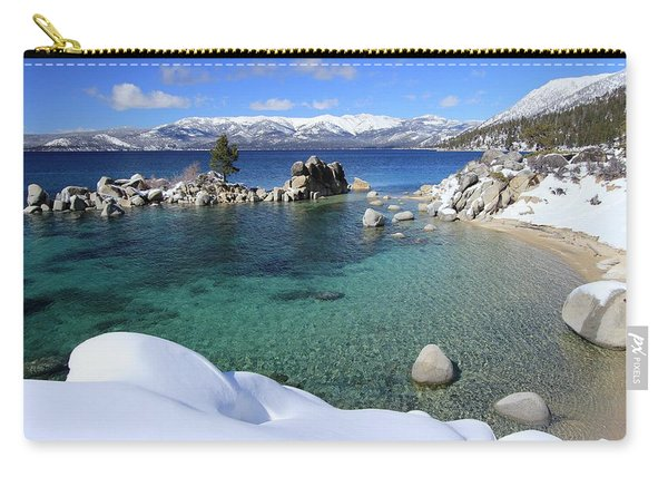 Carry-all Pouch featuring the photograph Jewels Of Winter by Sean Sarsfield