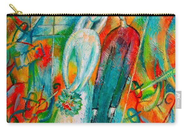 Jewish Wedding Carry-all Pouch