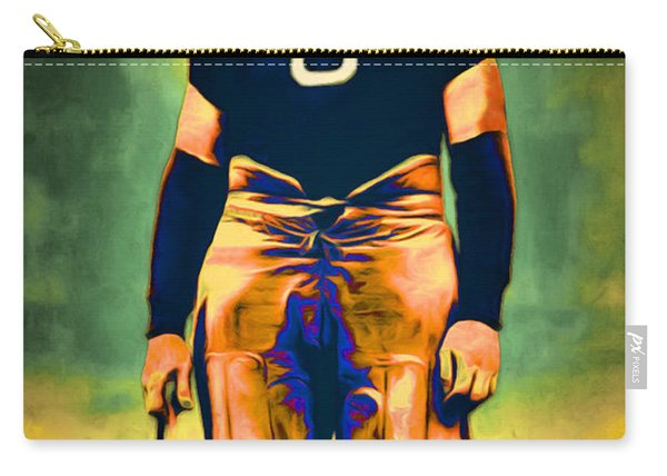 Jim Thorpe Vintage Football 20151220 Carry-all Pouch