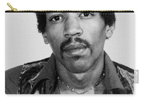 Jimi Hendrix Mug Shot Vertical Carry-all Pouch