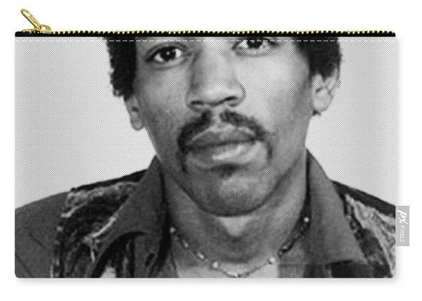 Jimi Hendrix Mug Shot Vertical Carry-all Pouch