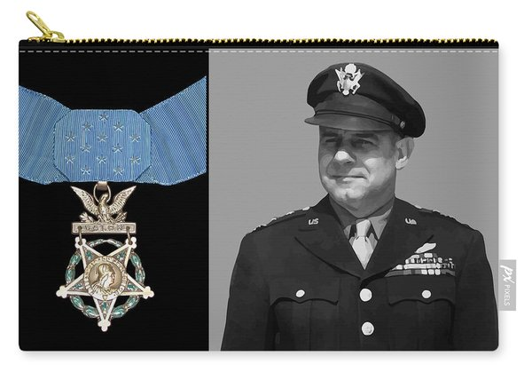 Jimmy Doolittle And The Medal Of Honor Carry-all Pouch