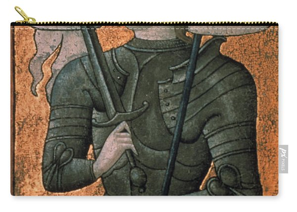 Joan Of Arc (c1412-1431) Carry-all Pouch