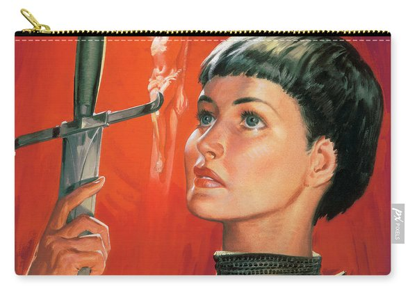Joan Of Arc Carry-all Pouch