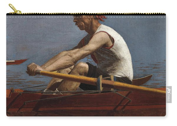 John Biglin In A Single Scull, 1874  Carry-all Pouch