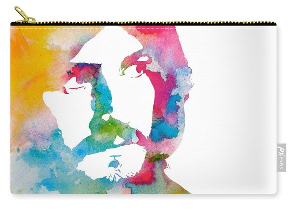 John Bonham Watercolor Carry-all Pouch
